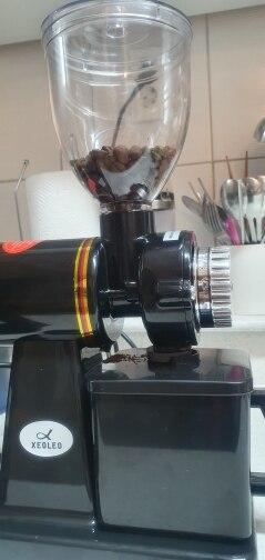 Moedores de café elétricos Vermelho/ Vermelho/ Xeoleo