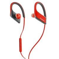 Bluetooth Sport Headset mit Mikrofon Panasonic RP-BTS30E Rot