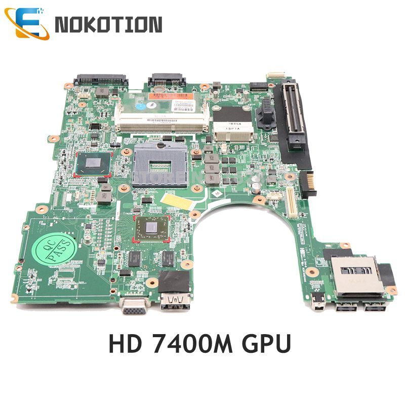 NOKOTION 646963-001 646963-501 For HP ProBook 6560B 8560P Laptop Motherboard QM67 DDR3 HD 7400M GPU