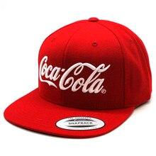 Gorra Coca Cola FLEXFIT Gorra de color rojo ajustable... talla adulto