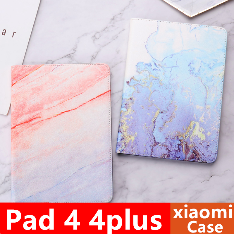 Xiaomi mi pad 4 case  pad 4 plus mochila xiaomi The marble for xiaomi case Turnkey drop Soft shell Soft Shockpro of