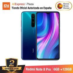 Redmi note 8 pro (128gb de rom con 6gb de ram, cámara de 64 mp, android novo móvel) [telefine móvel versão global para espanhol]