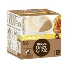 Coffee Capsules Nescafé Dolce Gusto 65835 Au Lait(16 uds