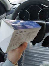 It was relatively not long. Everything works as stated. The box came crumpled, it seems to
