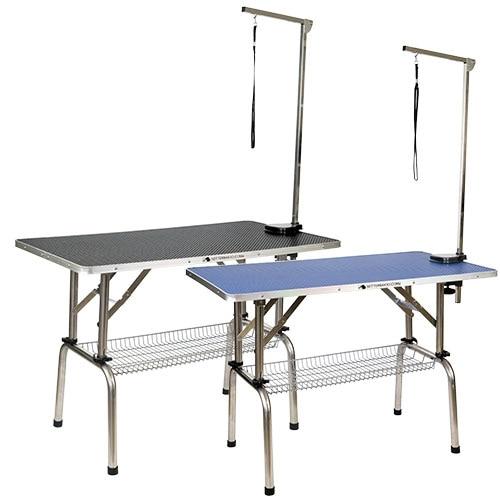 Table Adjustable Height TABLE HEIGHT ADJUSTABLE BLUE