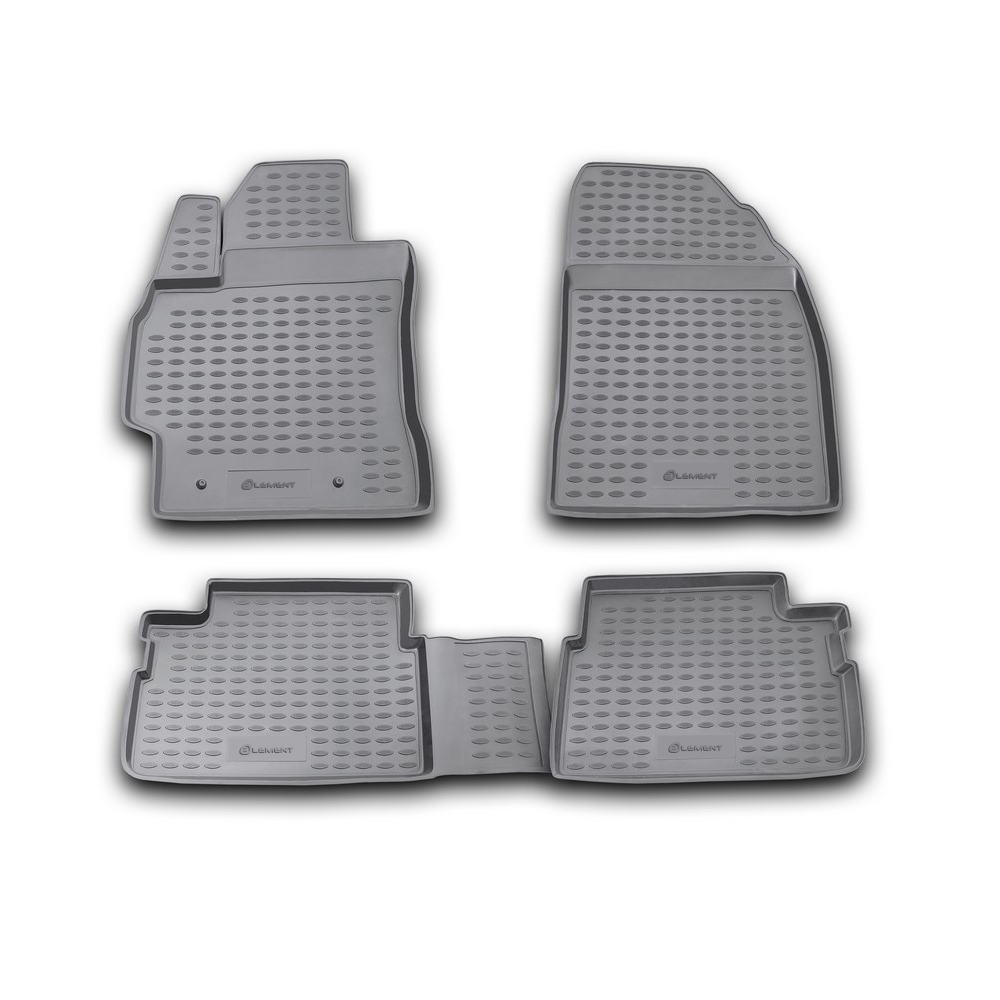 Floor mats for TOYOTA Corolla 01/2007 2013  4 PCs NLC.48.15.210k|  - title=