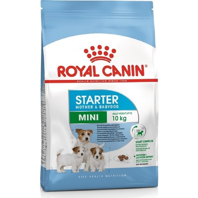 Royal Canin Mini Starter Food 3 Kg For Nursing Mother And Baby Dog Puppies Healthy Growth Feeding Pet Immunity Flora Support