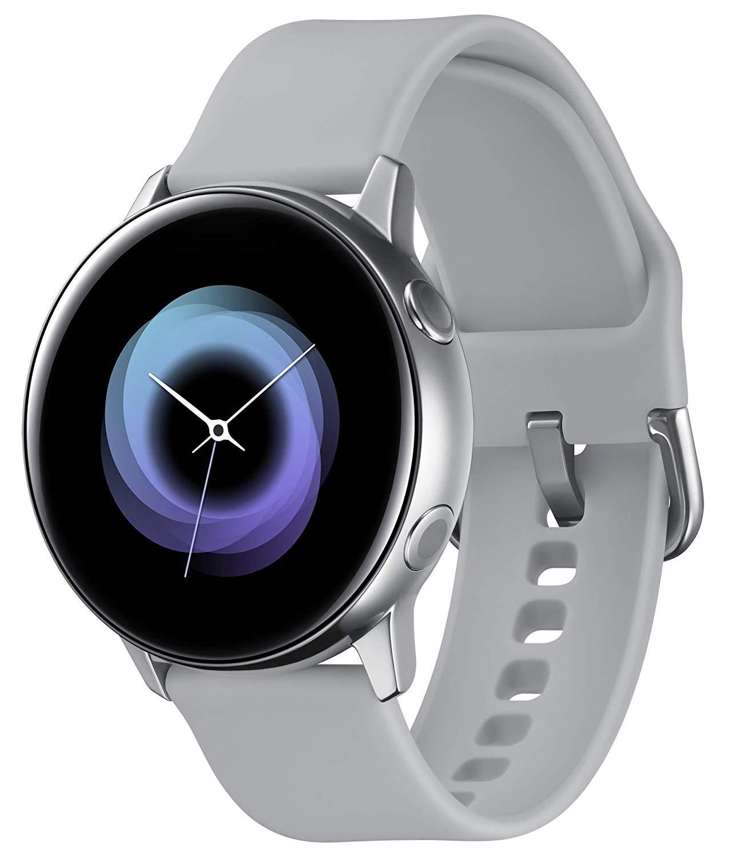 Montre Samsung Galaxy Watch Active R500, montre intelligente couleur argent (argent), écran SAMOLED de 1,1