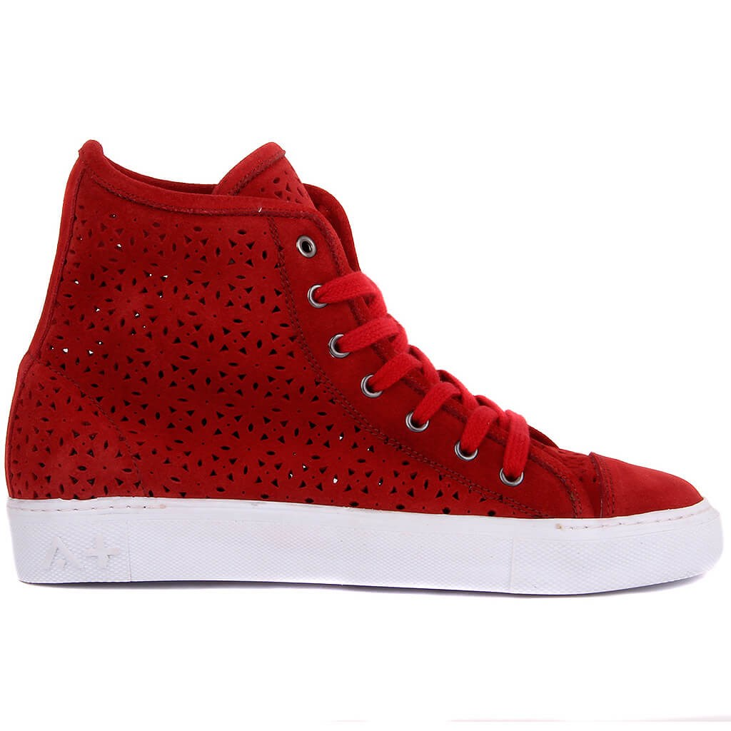 Sail-Lakers Burgundy Suede Summery Women Sneaker