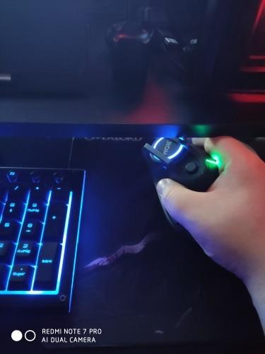 Raton Vertical Gaming RGB Krom Kaox