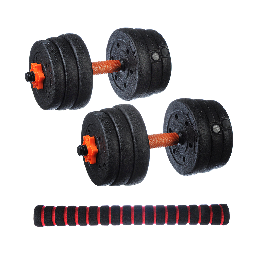 Silapro Power Kit: 2 Dumbbells, Neck, Pancakes (1,25 кг-4шт, 1,5кг-4шт, 2кг-4шт)