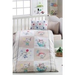 Комплект детской кровати из 100% хлопка | герой медведь