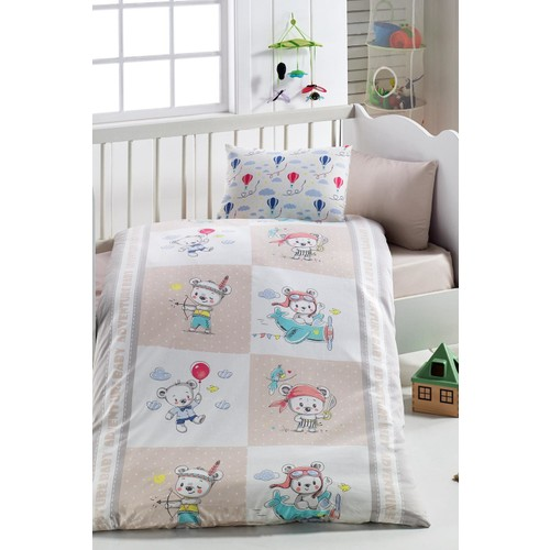 Baby Bed Set Hundred Percent Cotton | Hero Bear