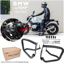 Crash Bar For BMW R Nine T Engine Guard Bumper Frame Protector for 2014 2015 2016 2017 2018 R9T Accessories Motorcycle Parts