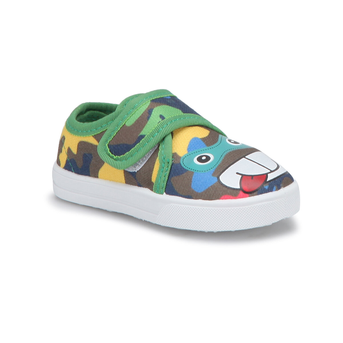 FLO 71. 509200.B Green Male Child Slip On Shoes Polaris