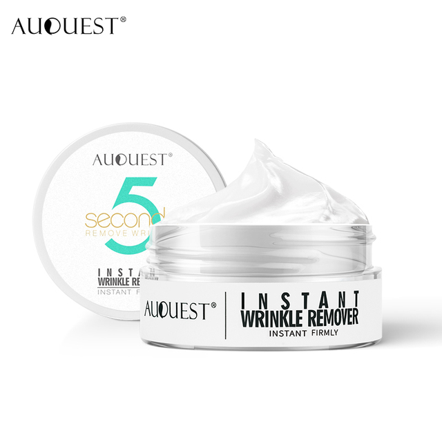 AuQuest 5 Seconds Wrinkle Remove Instant Face Cream Skin Tightening Hydrating Eye bag Lifting Anti-aging Pre-makeup Skin Care 4