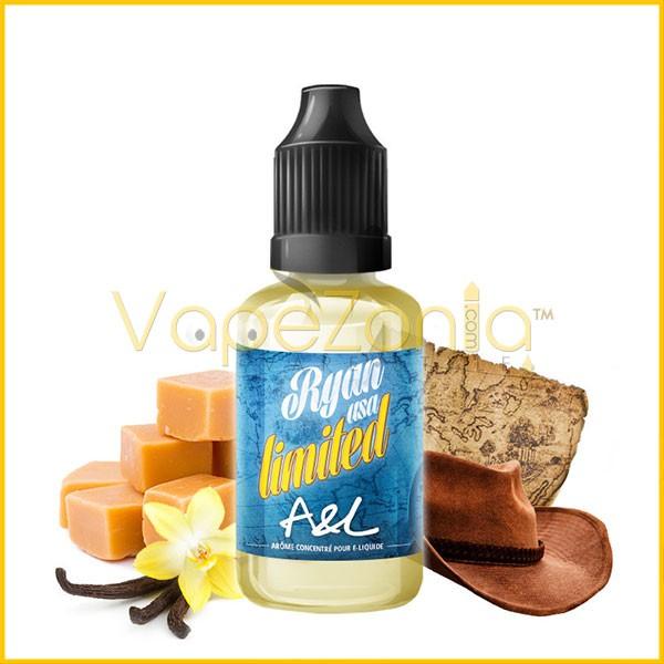 Aromes Et Liquides A&L RYAN USA Limited 30 Ml Vape Shop