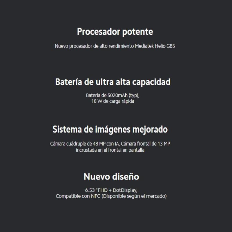 Xiaomi Redmi Note 9 (64GB ROM con 3GB RAM Cuatro Cámaras Android Nuevo Móvil) [Teléfono Móvil Versión Global para España]