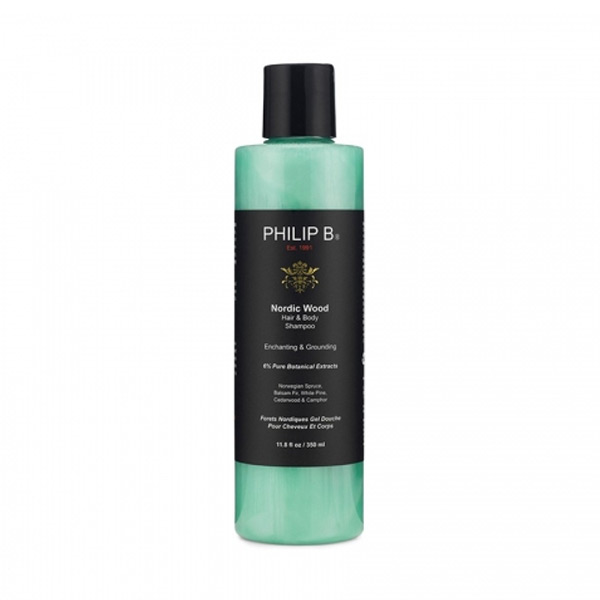 2-in-1 Gel And Shampoo Nordic Wood Philip B (350 Ml)