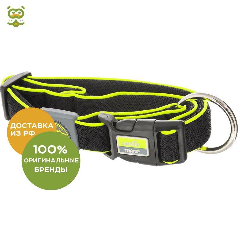 Hunter Maui collar for dogs, 42 - 65 cm., Black collar hunter convenience comfort for dogs 47 55 cm black