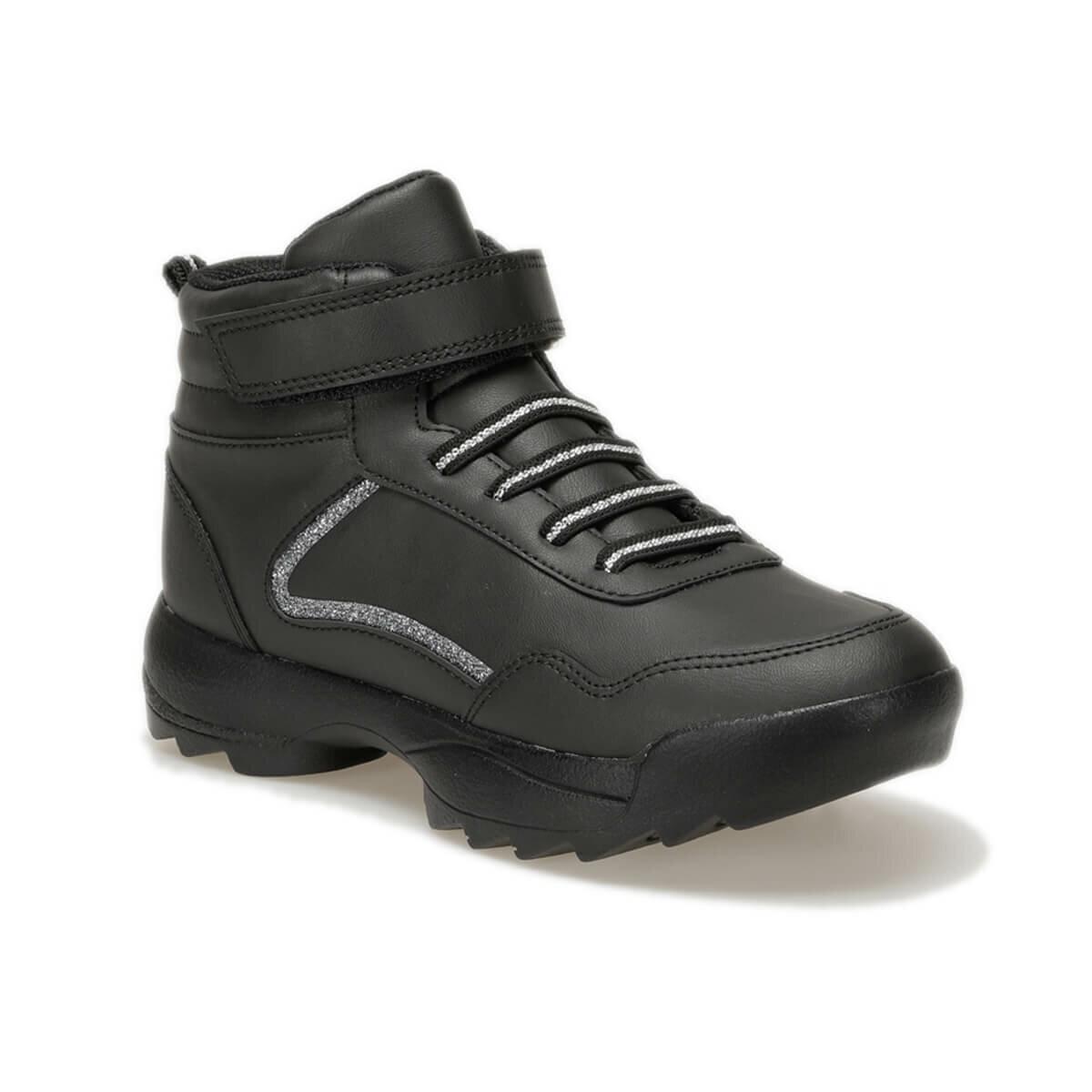 FLO FLORA HI JR Black Female Child Sneaker Shoes Torex