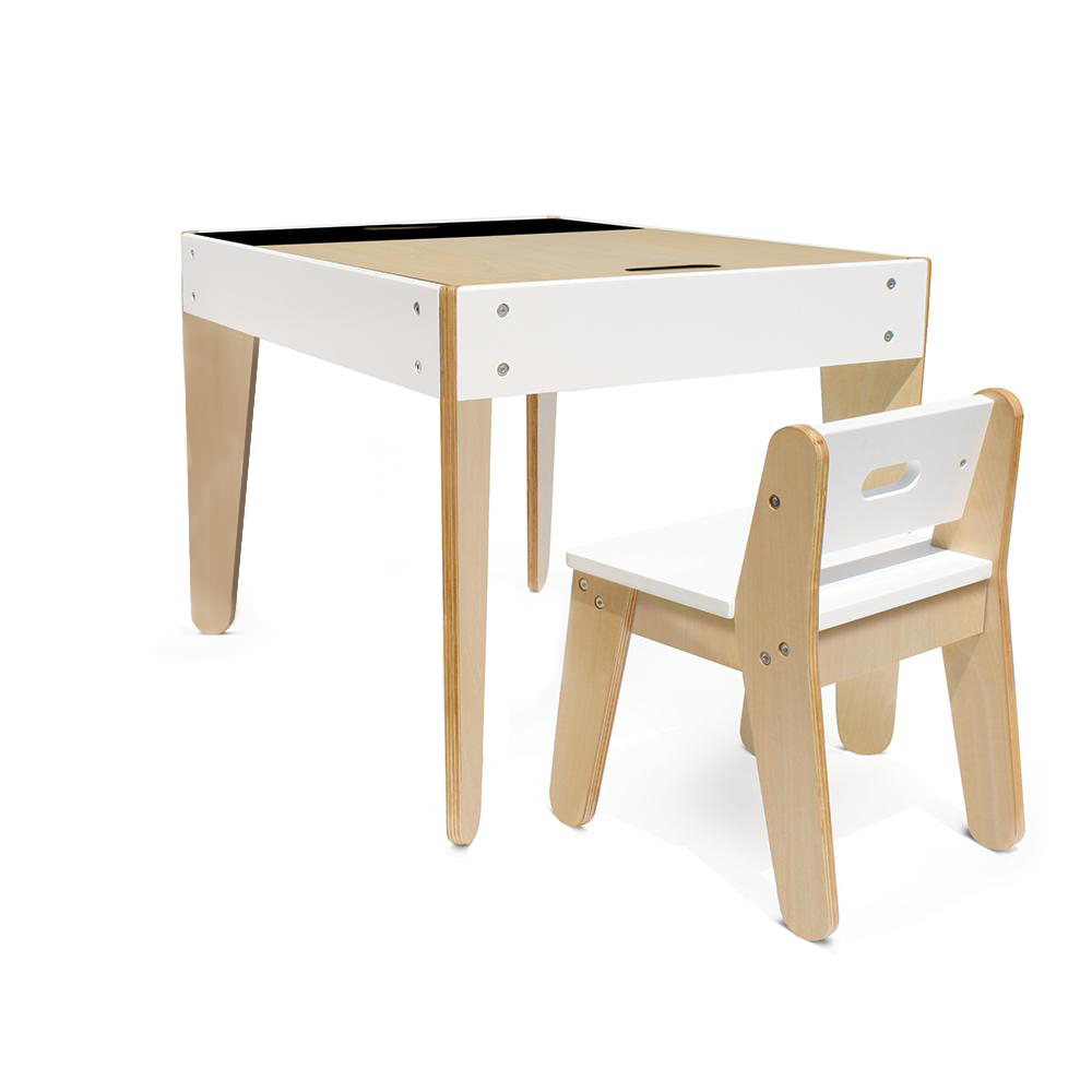 Children's Table And Chair AzbukaDekor With Chalk Board