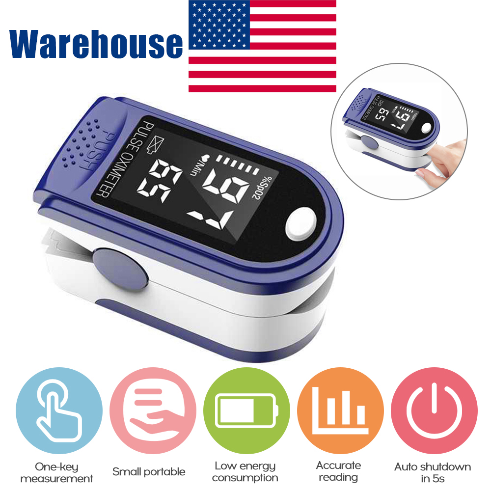Finger Pulse Oximeter-Oxygen Oxygen-Monitor Blood Portable Within 24hours Without-Battery