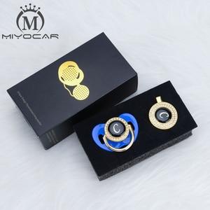 Image 2 - MIYOCAR Oro argento nome Iniziali lettera C bella bling ciuccio e ciuccio clip di set BPA libero dummy bling design unico LC