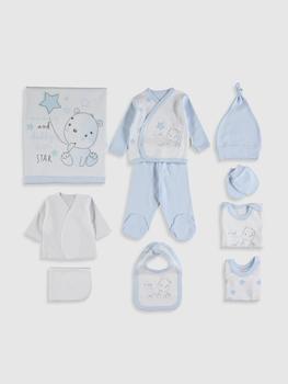 LC Waikiki Monello Newborn Baby Clothes  Brand Baby Boy Clothes Set 100% Cotton Baby's Set  bebe Clothing  10PCS/set шорты lc waikiki lc waikiki mp002xm23vbm