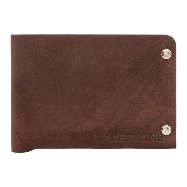 LAKESTONE портмоне кожаное Dakin Brown для мужчин
