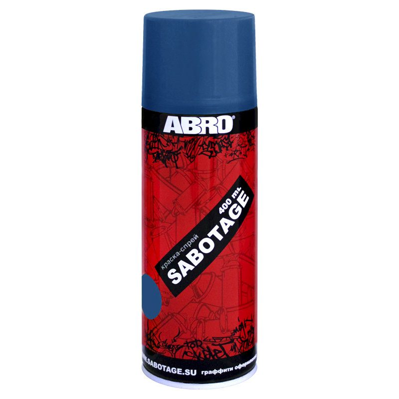 Paint spray sabotage 21 (blue) Abro ...