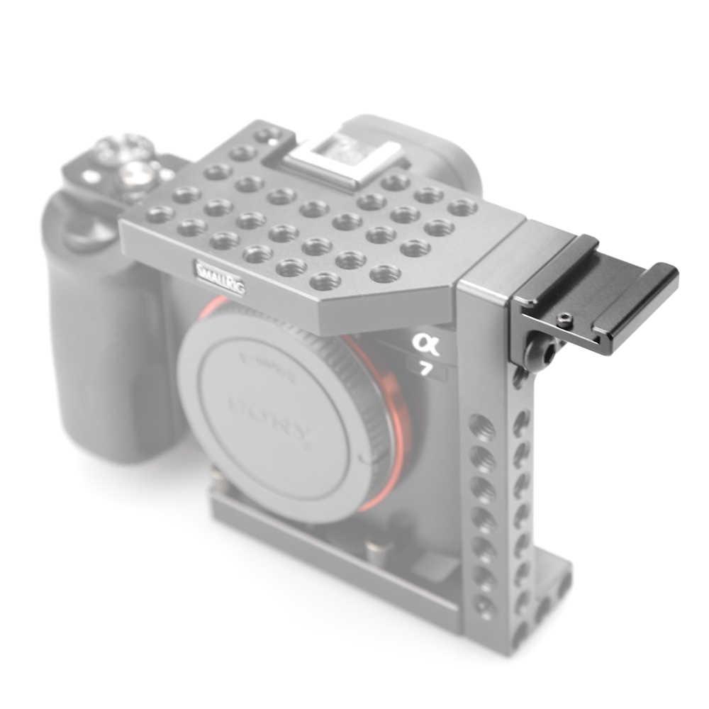 """SmallRig kamera zimny Adapter do montażu pod kątem 90 stopni dla lustrzanka cyfrowa Rig dołącz do bocznej klatki ze śrubami 1/4 """"-1593"""