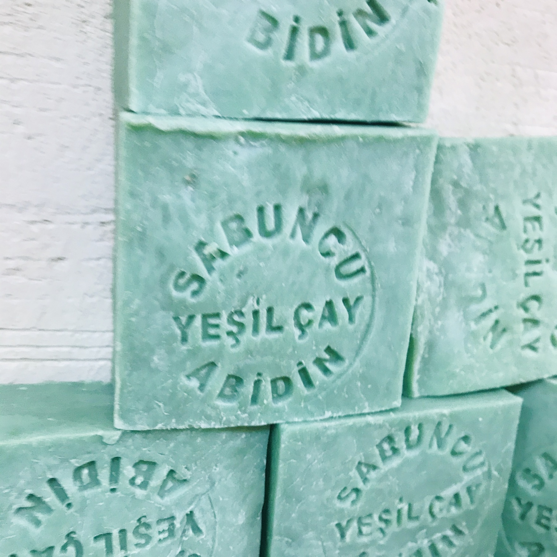 Green Tea Soap 100% Natural Handmade 120g Hair Skin Beauty Whitening Moisturizing Cleaner Antibacterial Acne Treatment