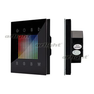 021036 Panel Sens SR-2831S-AC-RF-IN Black (220 V, RGBW,,) ARLIGHT 1-pc