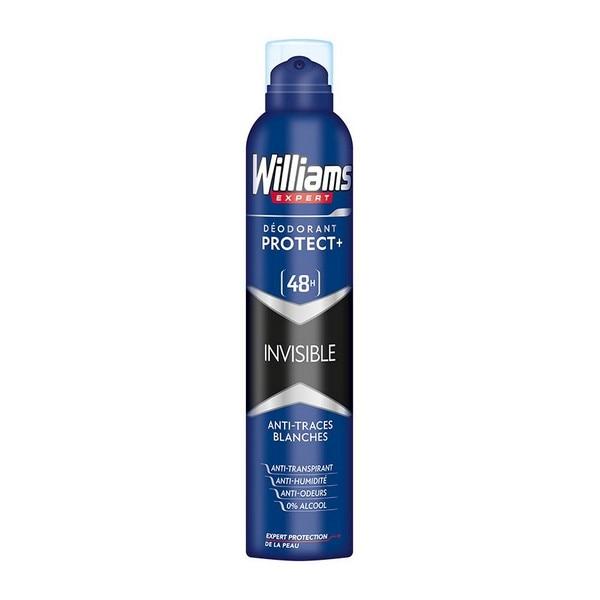 Spray Deodorant Invisible Williams (200 Ml)