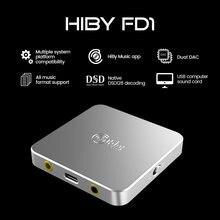 Hiby fd1 usb наушники Расшифровка усилителей deskstop dac audio