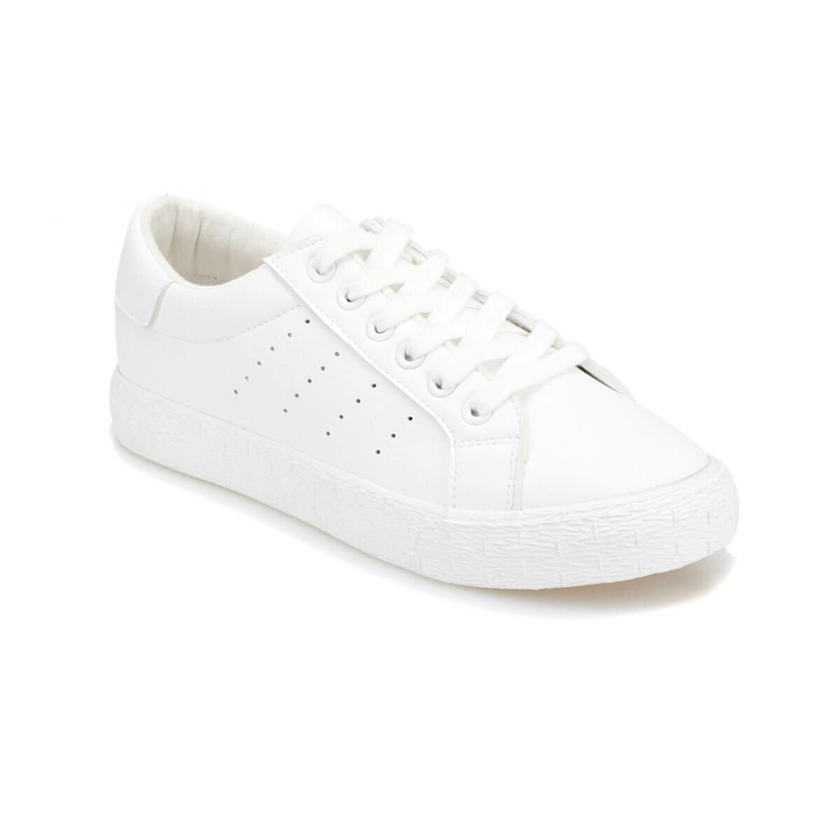 FLO POLIN White Women 'S Sneaker Shoes KINETIX