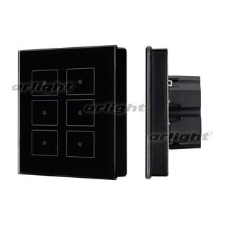 023038 Panel Sens SR-KN0611-IN Black (KNX, DIM) ARLIGHT 1-pc