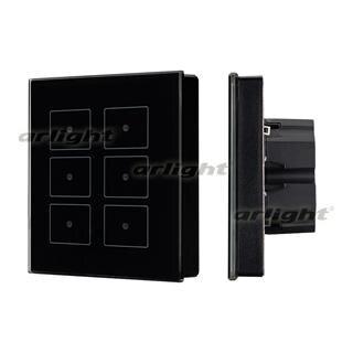 023038 Panel Sens SR-KN0611-IN Black (KNX, DIM) Box-1 Pcs ARLIGHT-Управление Light/Lot KNX/^ 83