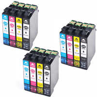 12 cartriges T29XL T 29 XL t2991 t 2991 2992 2993 2994 refill Compatible for printer Epson Model XP332