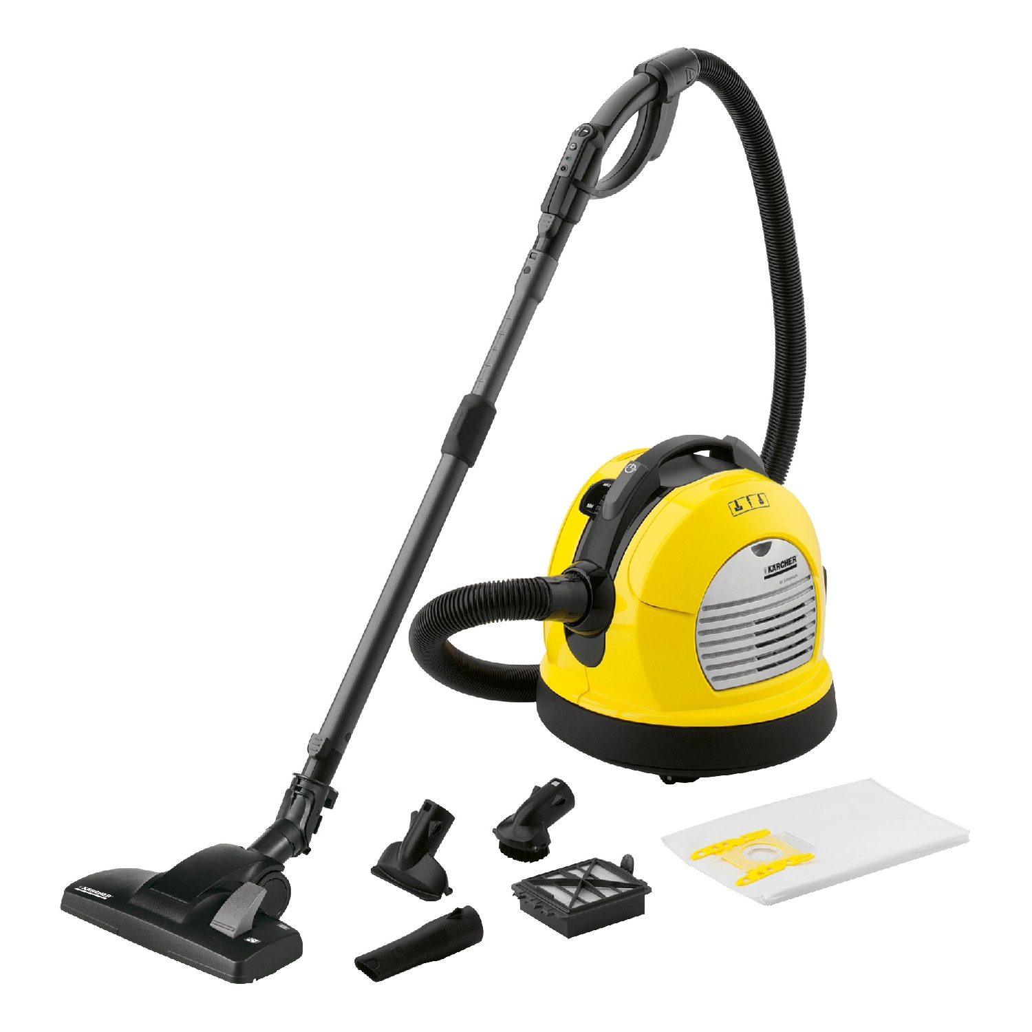 Vacuum Cleaner electric KARCHER VC 6 Premium * EU (Power 600 W, volume dust collector 4 L) цена 2017