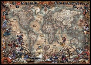 Image 1 - Antique World Map   Counted Cross Stitch Kits   DIY Handmade Needlework for Embroidery 14 ct Cross Stitch Sets DMC Color