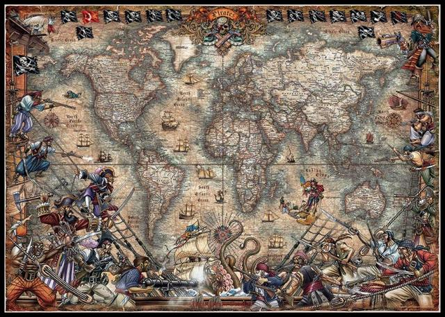 Antique World Map   Counted Cross Stitch Kits   DIY Handmade Needlework for Embroidery 14 ct Cross Stitch Sets DMC Color