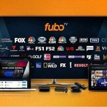 Fubo tv premium 1 ano/esporte & filmes🤩Mais de + 100 canais