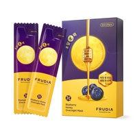 Facial Mask Frudia Bluberry Honey Overnight Mask (20pcs) [3Pieces] Moisturizing Sleeping Mask Face Care Skin Care Korea Cosmetic