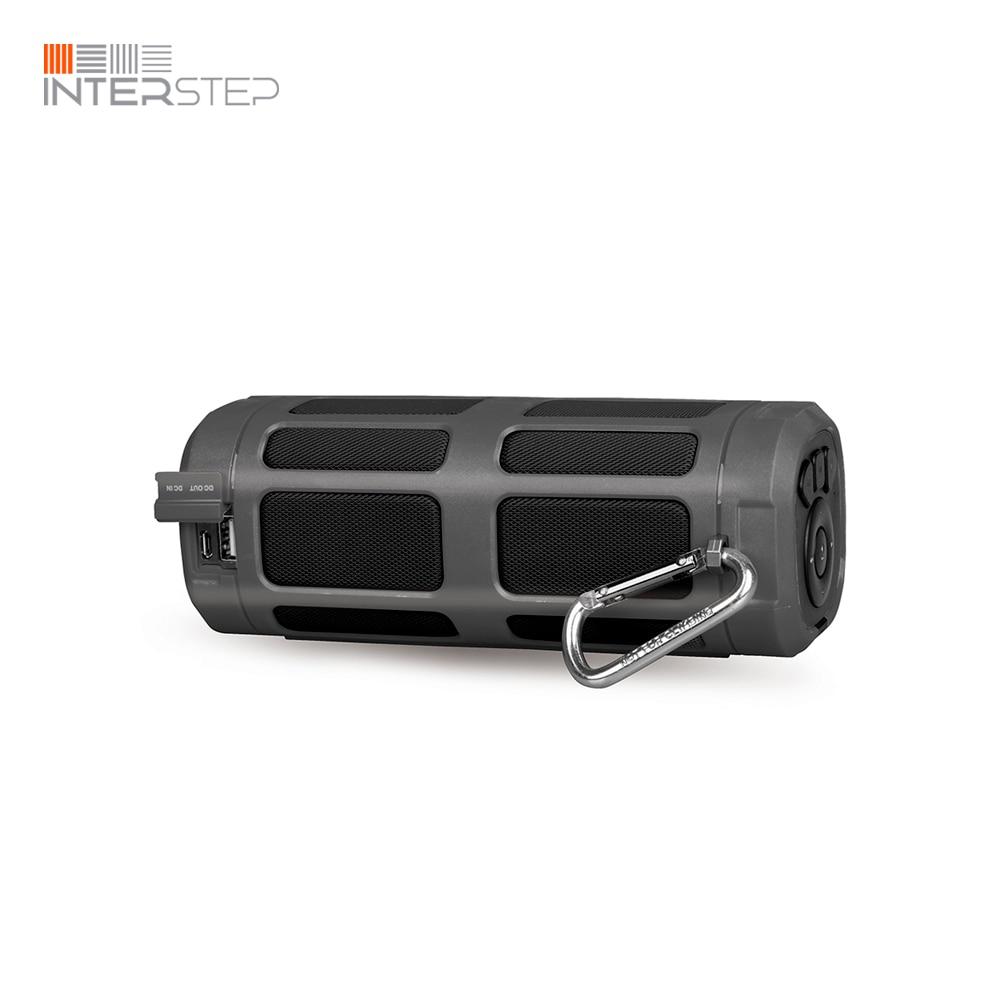 Portable Speaker INTERSTEP SBS 160 Bluetooth with radio, 16 W, Gray стоимость