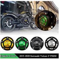 Motorrad CNC Aluminium Rechte Seite Motor Abdeckung Schutz Rahmen Slider für 2015 2019 Kawasaki Vulcan S VN650 VN 650 EN650 2018|engine cover|kawasaki protectorprotector kawasaki -