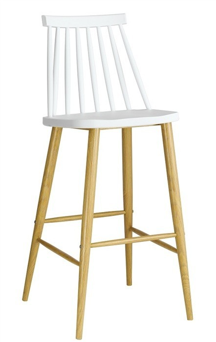 Stool CAMUS Metal White