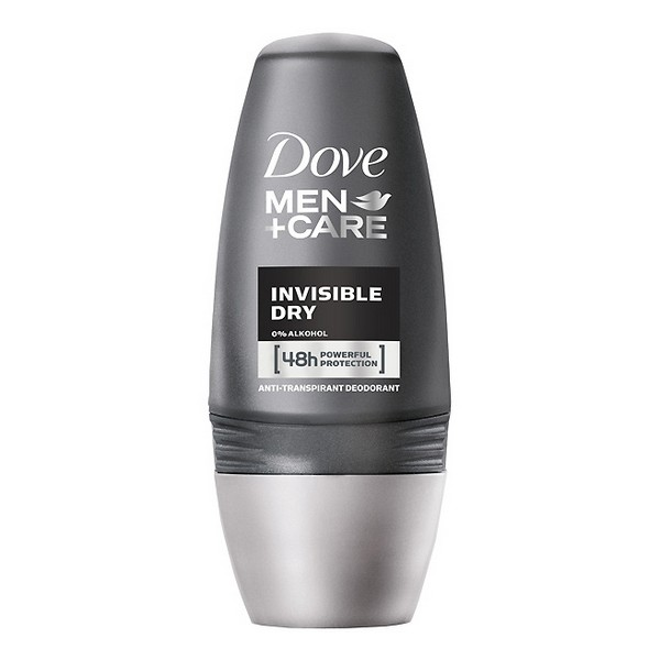 Roll-On Deodorant Men Invisible Dry Dove (50 Ml)