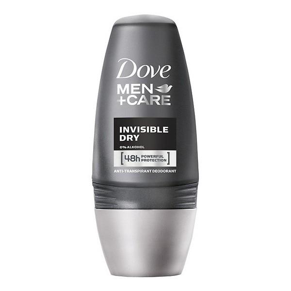 Roll-On Deodorant Men Invisible Dry Dove (50 Ml)